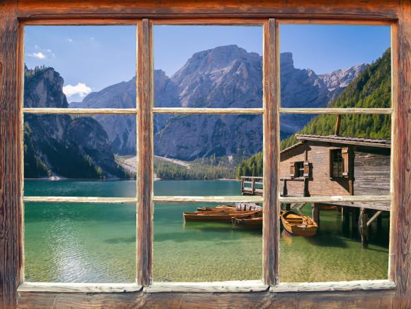 Blick Aus Dem Fenster Custom Wallpaper