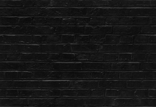 seamless black brick wall pattern texture background