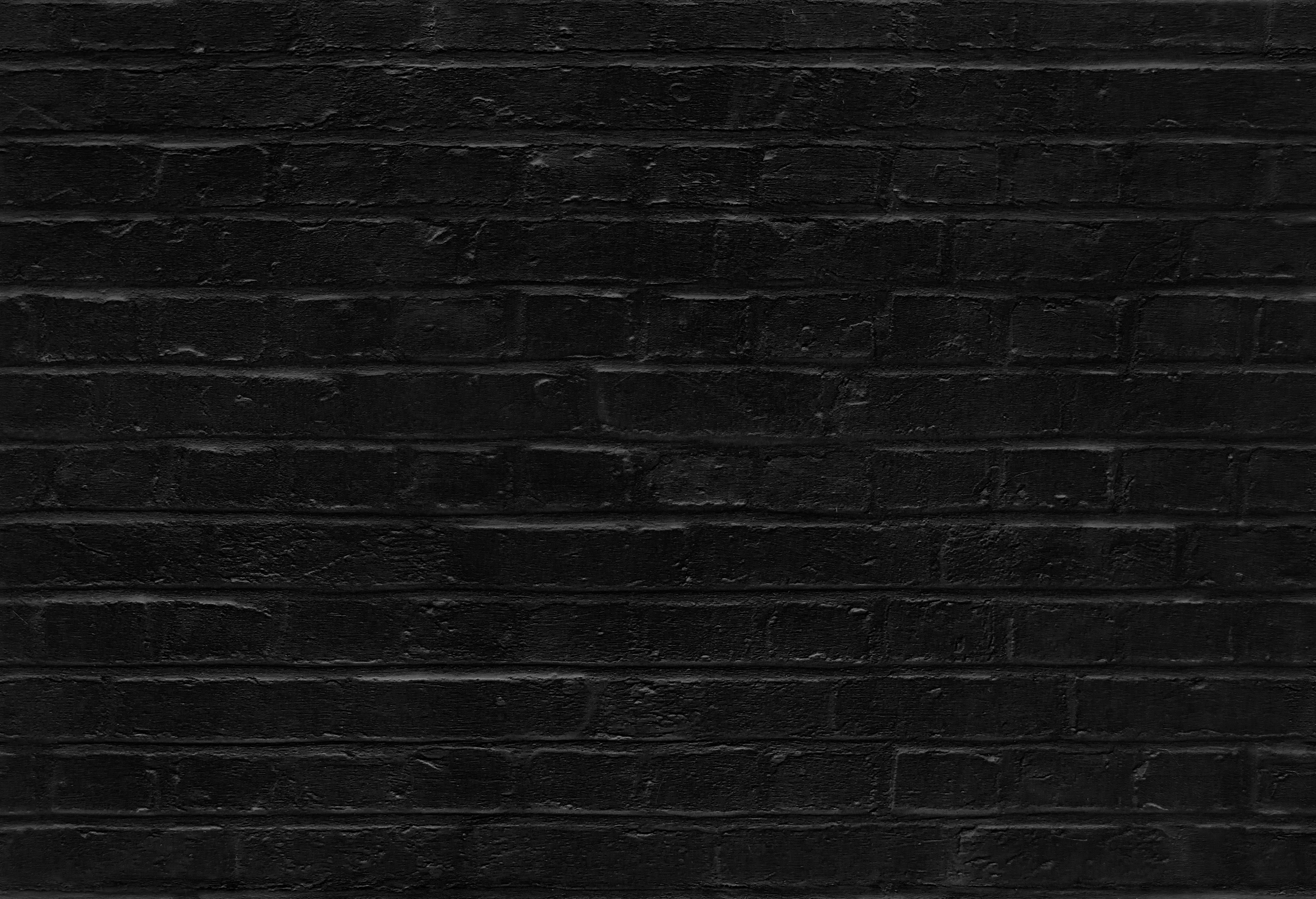 Seamless black brick wall pattern texture background for Black 3d brick wallpaper