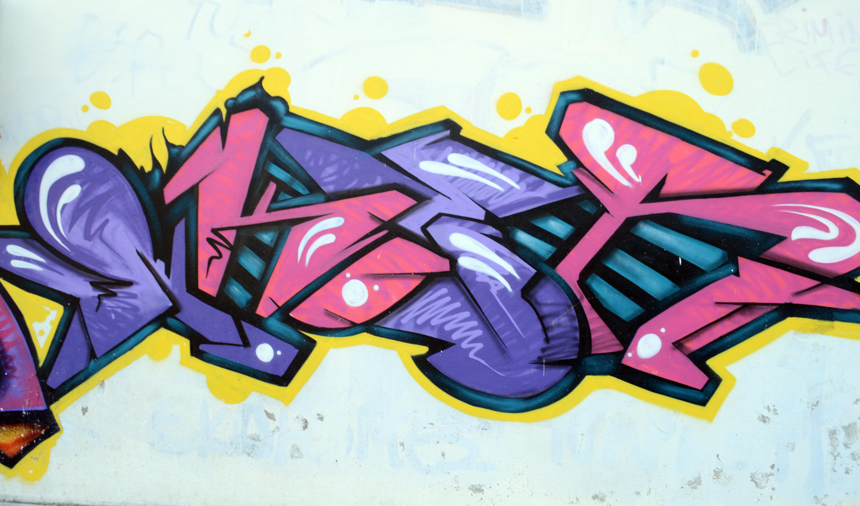 Colorful Graffiti Custom Wallpaper