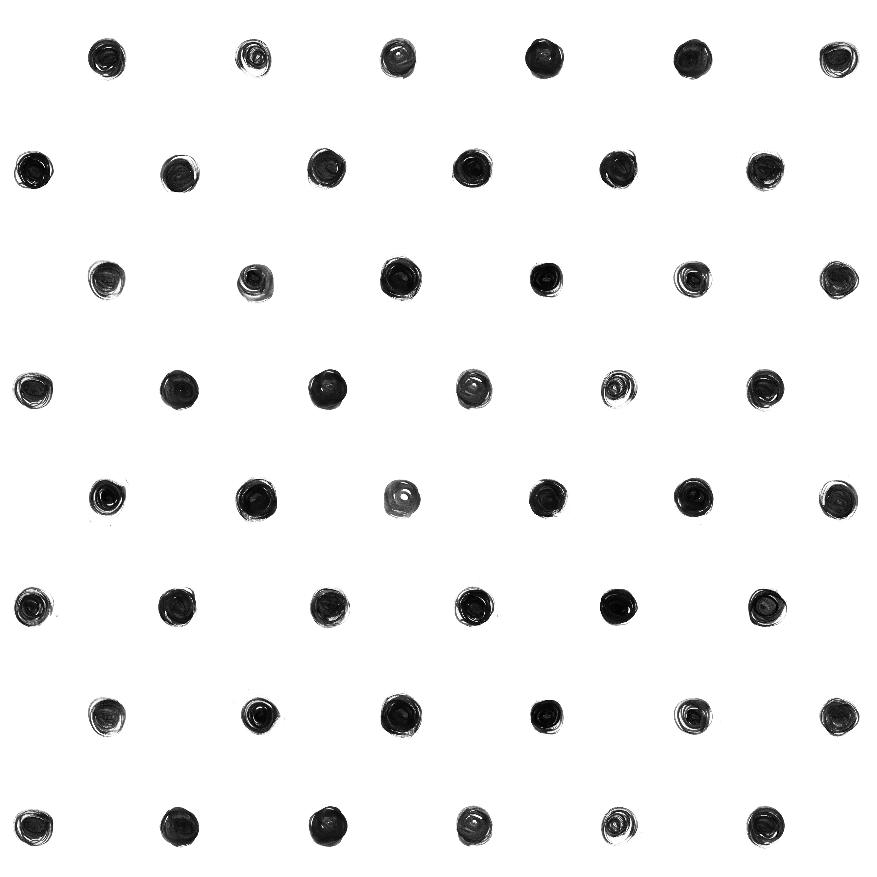 Black and white polka dot pattern - photo#3