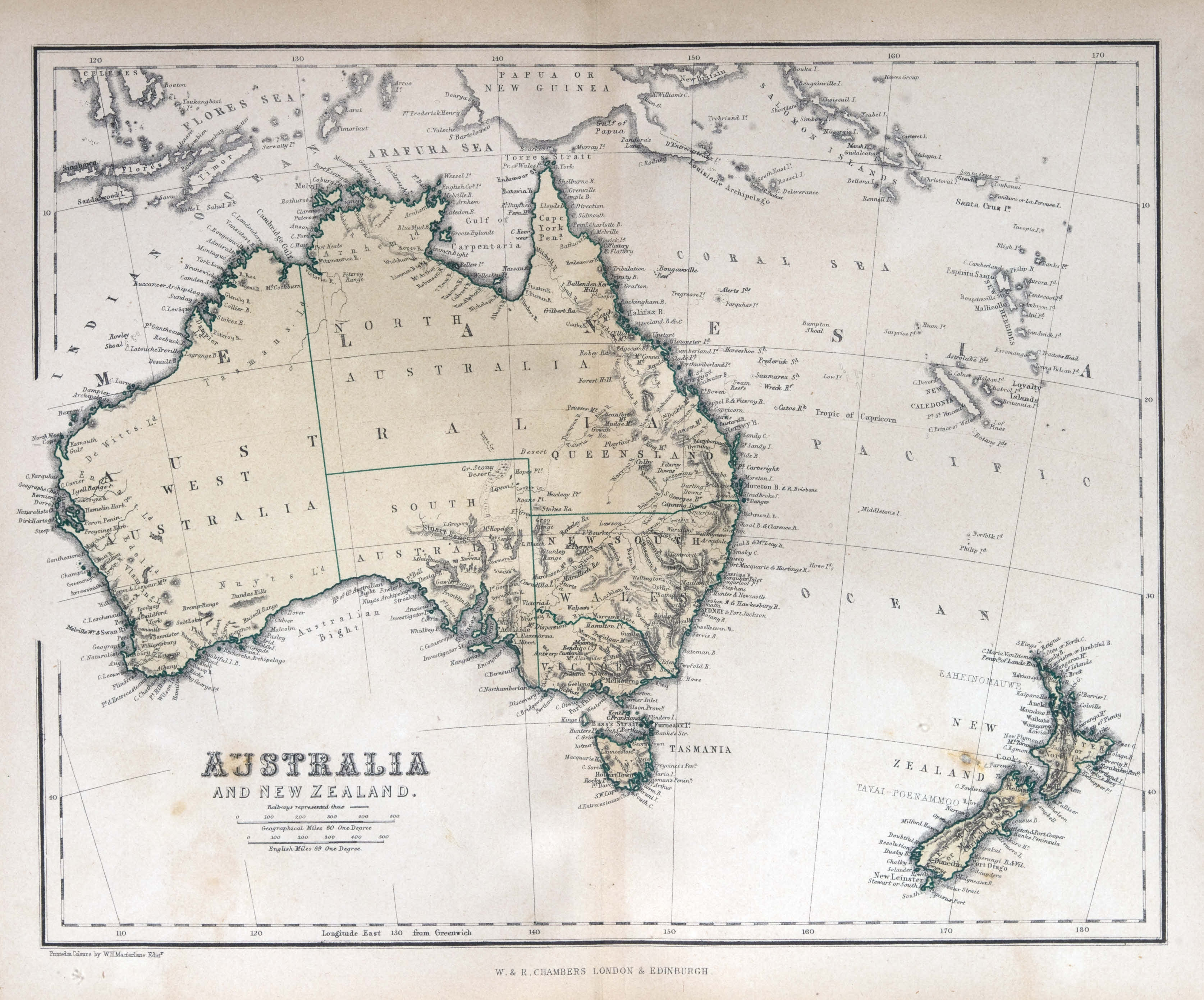 Australia new zealand 1870 old map custom wallpaper gumiabroncs Image collections