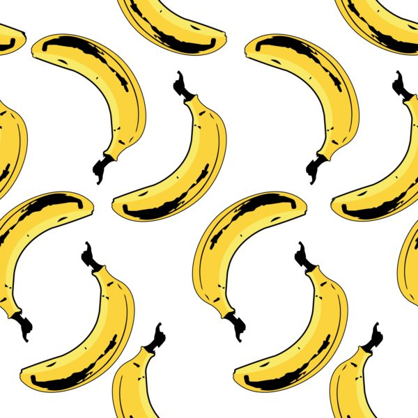 Bananas Seamless Pattern Custom Wallpaper