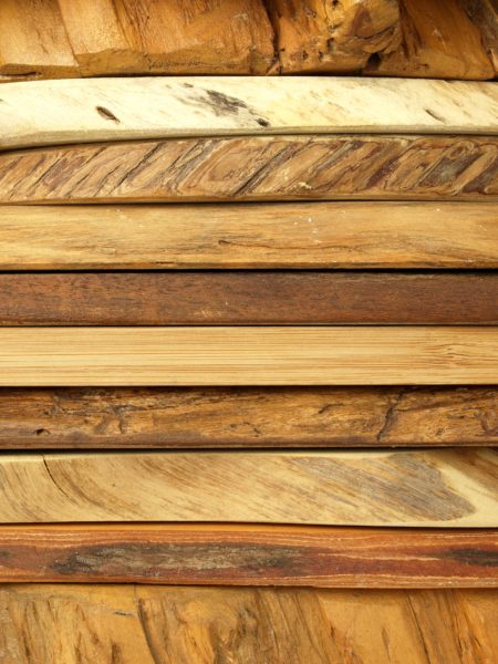 Rough Wood Planks Custom Wallpaper