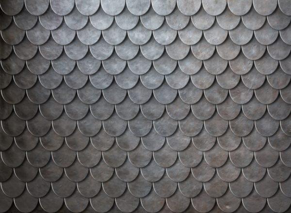 Rusty Metal Scales Armor Background Custom Wallpaper