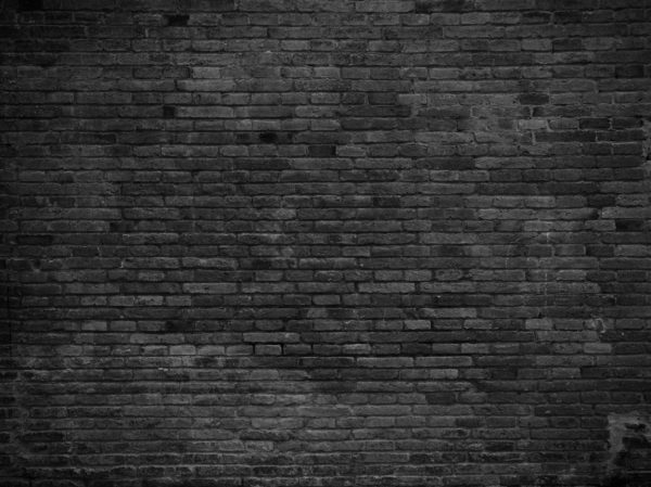 wall black painted bricks custom wallpaper
