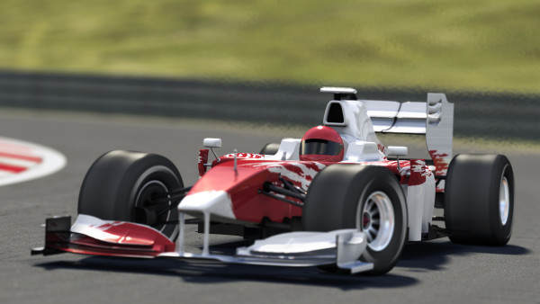 formula one race car