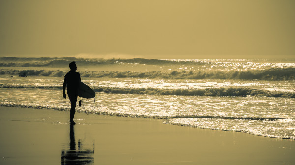 surf en ombres chinoises