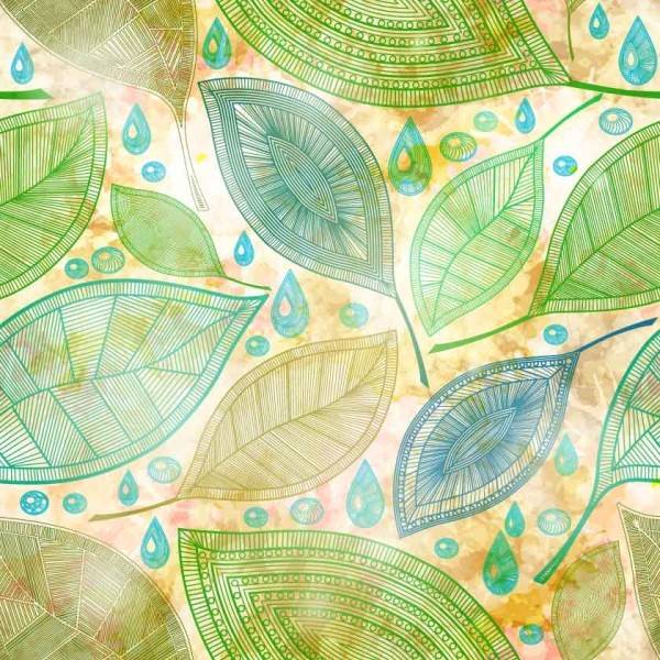 Patterned Leaves 1307