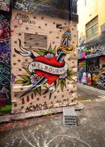 Melbourne, Graffiti, Melbourne Graffiti