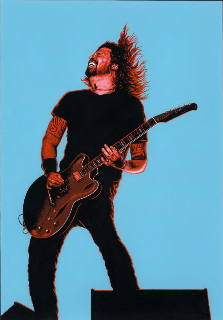 Dave Grohl by Saskia Monsoon Riviera