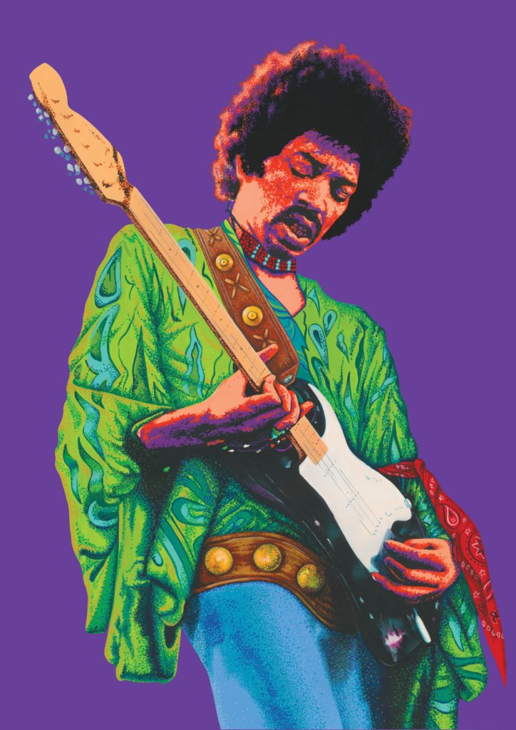 Jimi-Hendrix-Purple-Haze-by-Saskia-Monsoon-Riviera