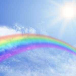 Rainbow, most colorful Phenomenon in Nature |Real Rainbows In The Sky On A Sunny Day