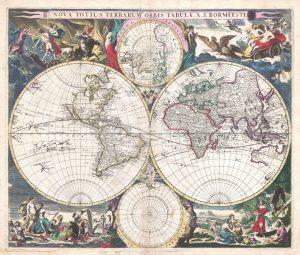 Nova Vintage Map