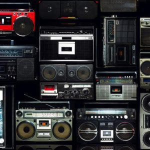 boombox varieties from the 80s